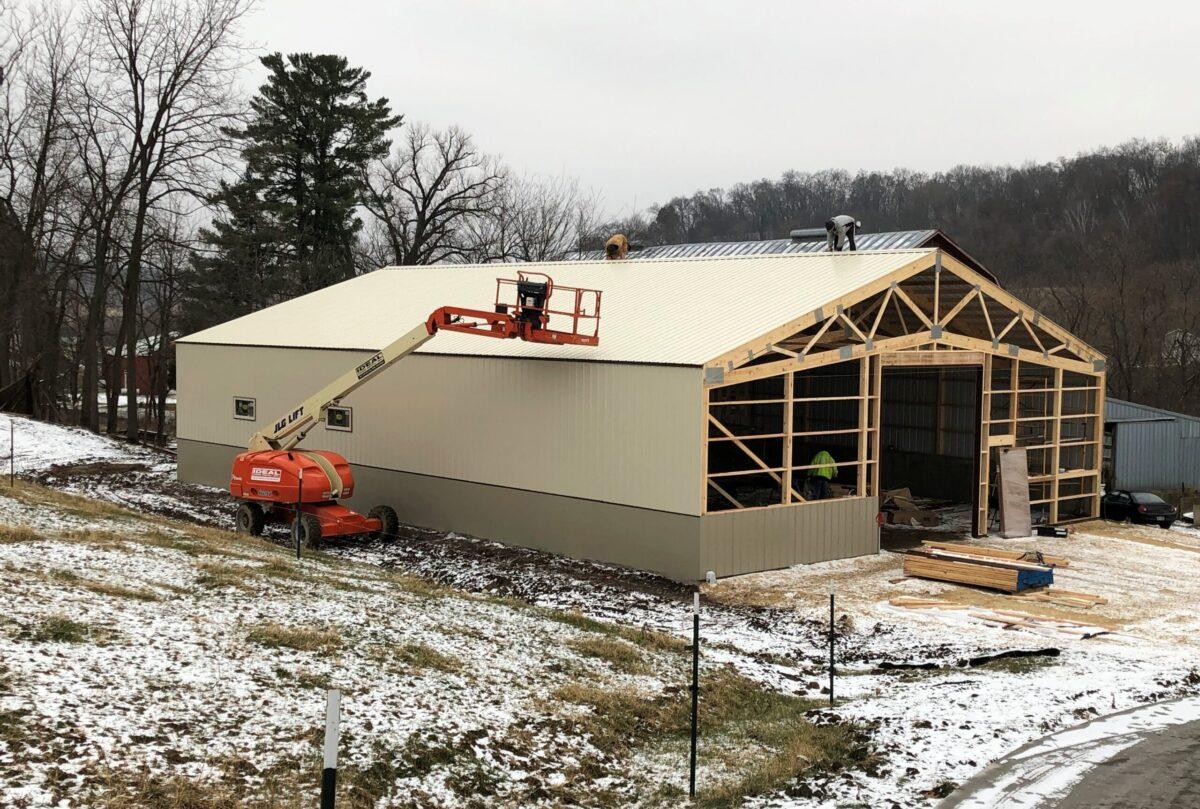 Ag building Beef barn